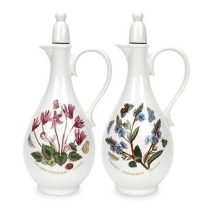 Botanic Garden Oil & Vinegar Bottles