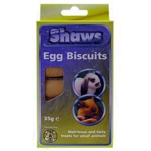 Shaws Egg Biscuits Original 30g
