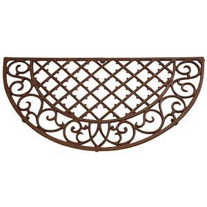 Cast Iron Half Round Doormat