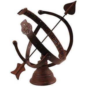 Cast Iron Armillary Sundial