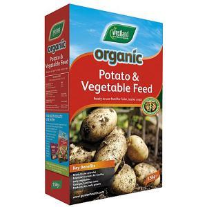 Organic Potato & Vegetable Fertiliser - 1.5kg