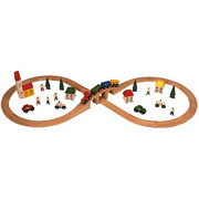 Figure of Eight Train Set - 43 Piece