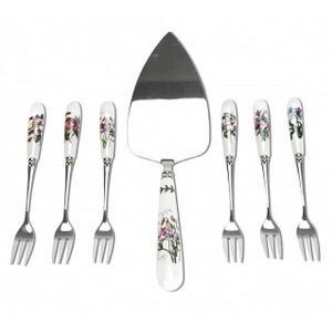 Botanic Garden Cake Slice & 6 Pastry Forks