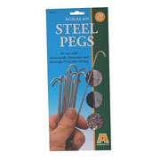Steel Pegs - Pack of 12