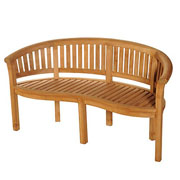 Bramblecrest Broadway Banana Bench (8cm Scroll)