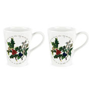 Holly & Ivy Mini Mugs Set of 2