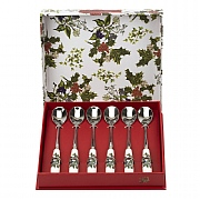 Holly & Ivy Tea Spoon Set of 6