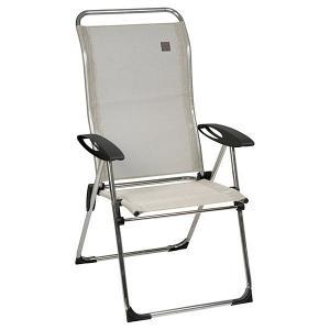Lafuma Cham Elips High Back Folding Chair Seigle
