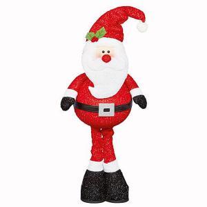 Standing Sparkle Santa 68cm