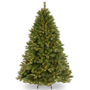 7ft Winchester Pine Pre Lit Artificial Christmas Tree