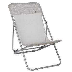 Lafuma Maxi Transat Folding Deck Chair Seigle