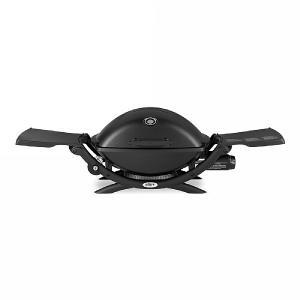 Weber Q2200 BBQ with Permanent Cart Black