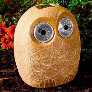 Solar Bright Eye Stony Owl