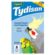 Caperns Tydisan Sanded Sheets Medium 41 x 25cm