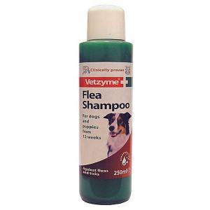 Vetzyme Flea Shampoo for Dogs & Puppies 250ml