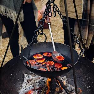 Kadai Tripod Cooking Bowl 36cm