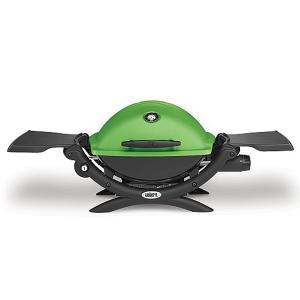 Weber Q1200 Gas Barbecue Green