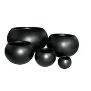 Grandelight Ball Planter - Black Various Sizes