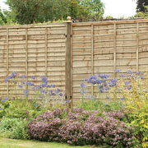 Pressure Treated Superlap Fence Panel - 3 Sizes