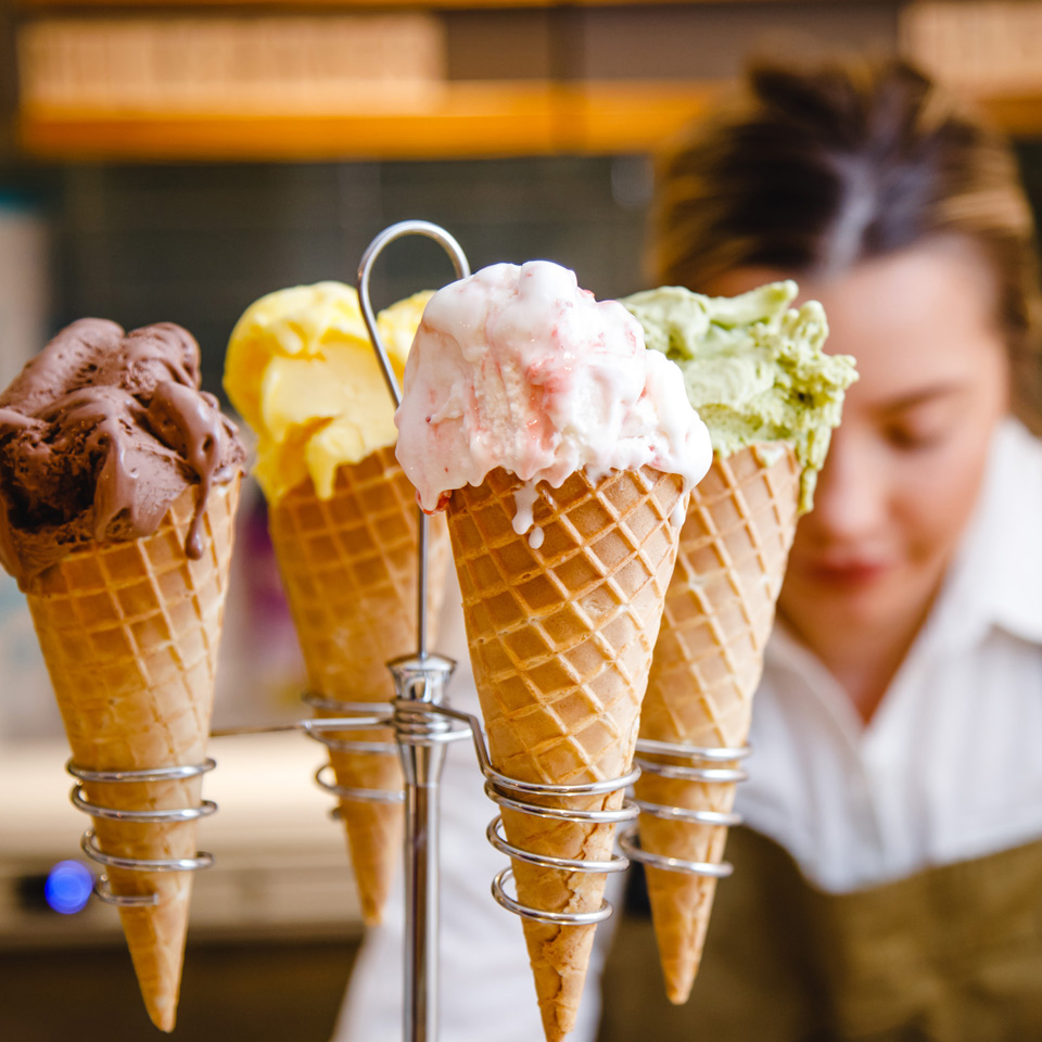 Food at Webbs : The Gelato Bar