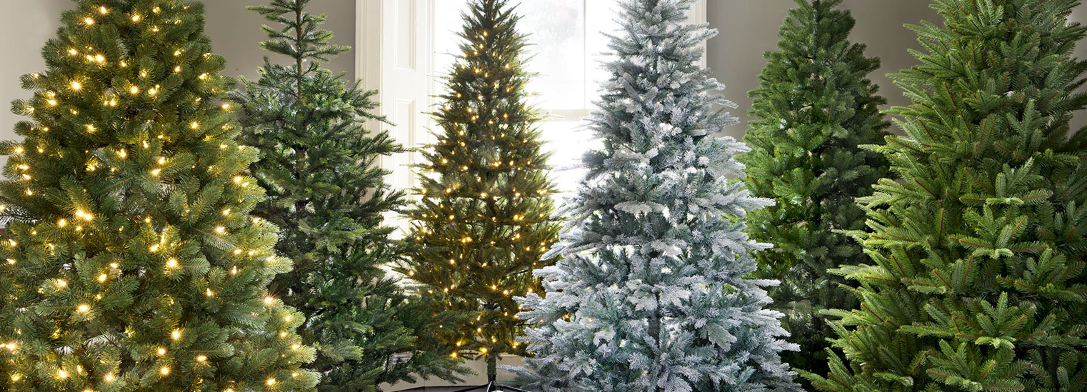 Artificial Christmas Trees Banner