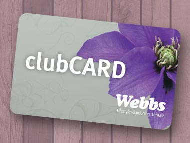 Webbs clubCARD