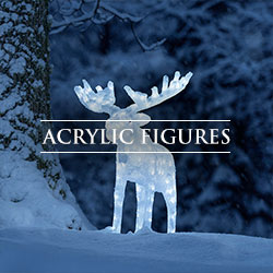 Acrylic Christmas Figures