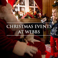 Christmas Events at Webbs