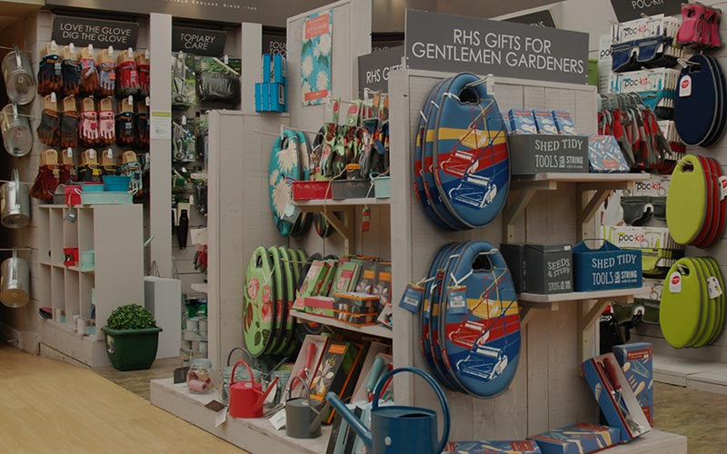 Gardening gifts at Webbs, Wychbold