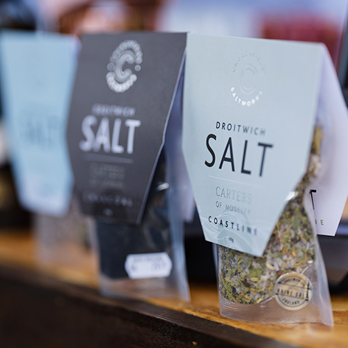 Food at Webbs: Introducing Droitwich Salt