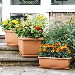 and garden limestone indoor ceramic water pots features planters