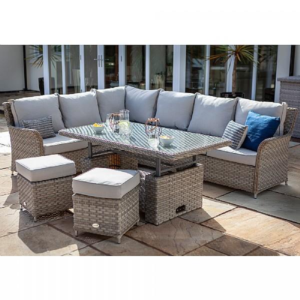 262a0dadd504 Hartman Heritage Casual Dining Set   Rattan Garden Furniture   Webbs ...