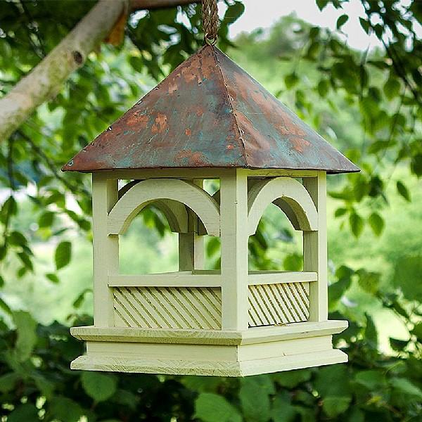 Bempton Rustic Bird Table