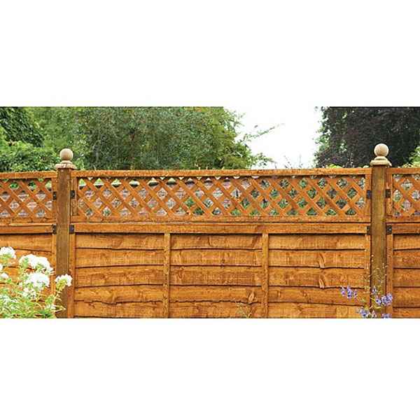 Diamond Lattice Fence Topper Fencing Screening From