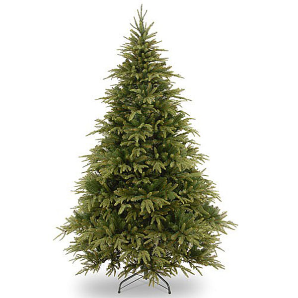 6.5ft Weeping Spruce Feel-Real Artificial Christmas Tree ...