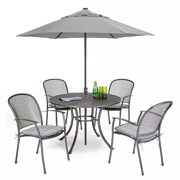 Garden Furniture Kettler caredo 4 seater round set | kettler garden furniture | from webbs