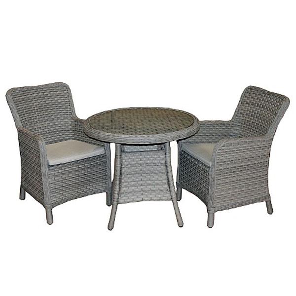 bramblecrest geneva bistro set weave garden furniture webbs garden centre - Garden Furniture Kidderminster