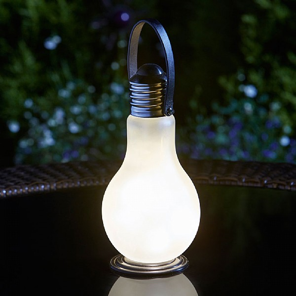 Eureka frosted battery operated light bulb ornamental garden eureka frosted battery operated light bulb ornamental garden lights webbs garden centre aloadofball Image collections