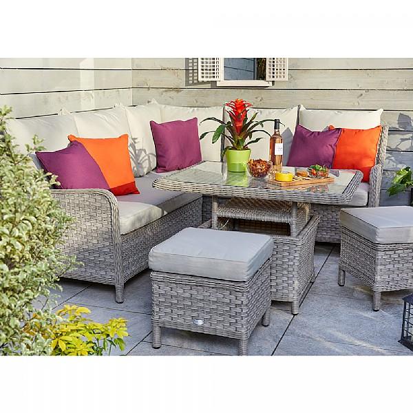bramblecrest geneva mini casual dining set weave garden furniture webbs garden centre - Garden Furniture Kidderminster