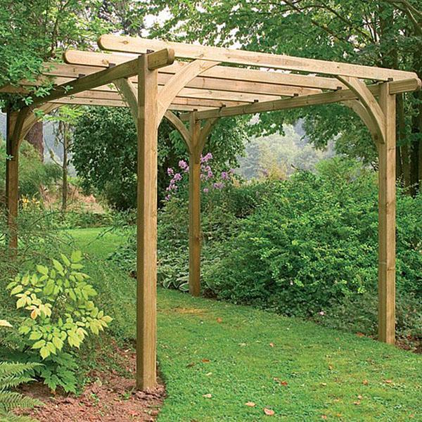 Ultima Wooden Pergola Kit 2 Sizes Webbs Garden Centre