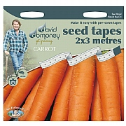 David Domoney Carrot Nantes 5 Seed Tape