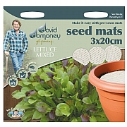 David Domoney Lettuce Seed Mat