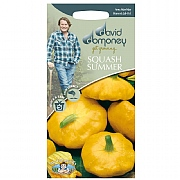 David Domoney Summer Squash Sunburst F1 Seeds