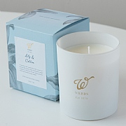 Webbs Lily & Cotton Scented Candle