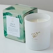 Webbs Apple & Elderflower Scented Candle