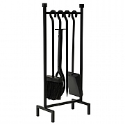 Iron Hanging Rack 4 Piece Fireside Set
