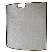 Pewter Firescreen