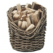 Wicker Fireside Kindling Basket
