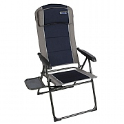 Quest Elite Ragley Pro Recline Chair with Side Table - Blue