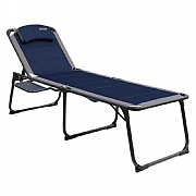 Quest Elite Ragley Pro Lounger with Side Table - Blue
